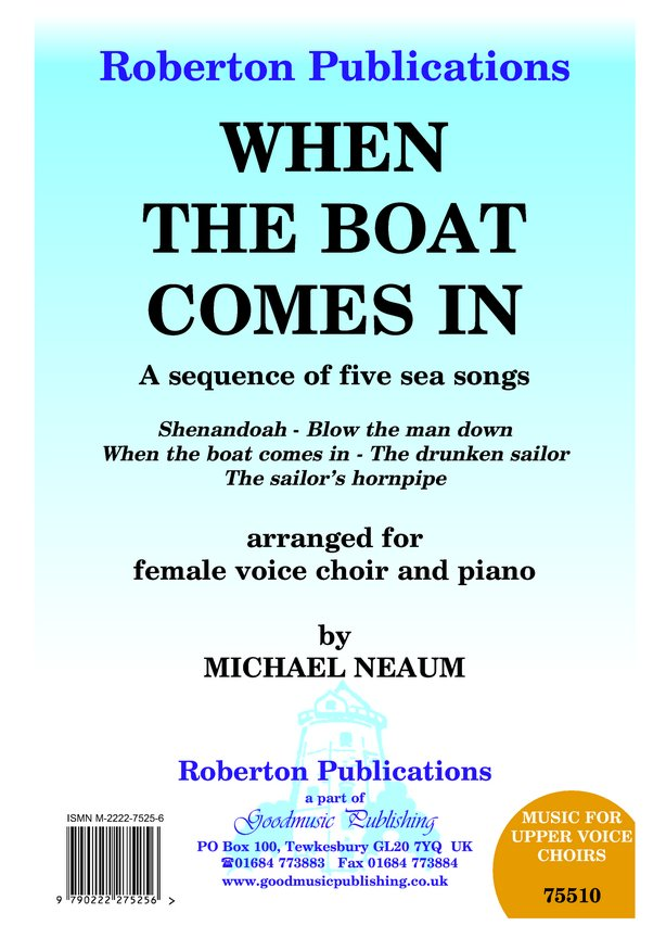 When the Boat Comes in (Sea Songs) image