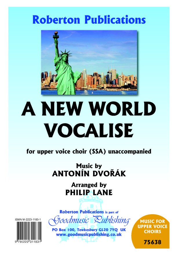 New World Vocalise arr.Lane image
