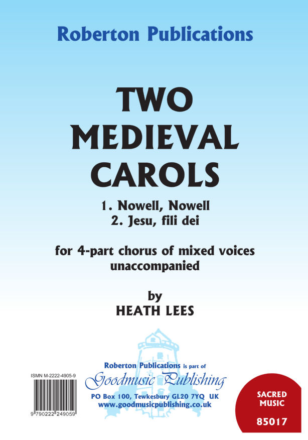 Two Medieval Carols image