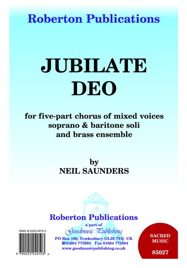 Jubilate Deo image