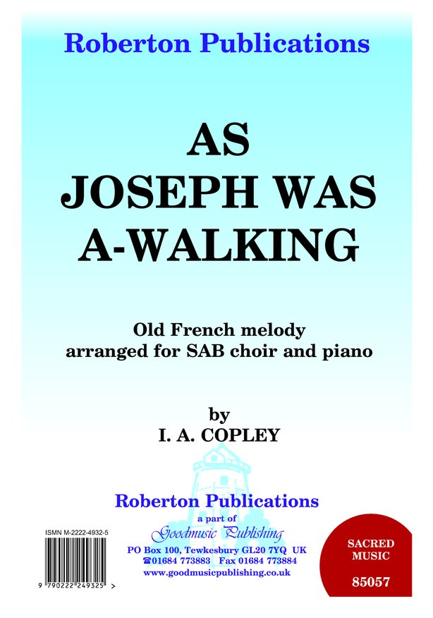 As Joseph Was A-walking image