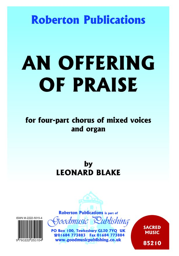 Offering of Praise image