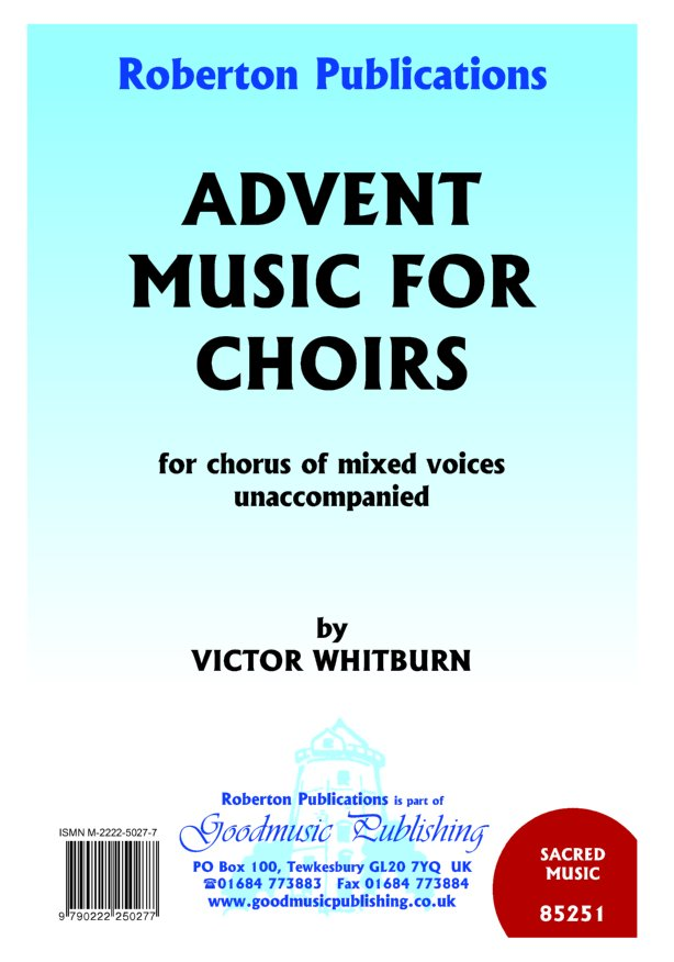 Advent Music for Choirs image