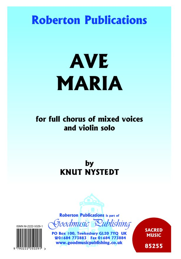 Ave Maria (mixed voices & violin) image