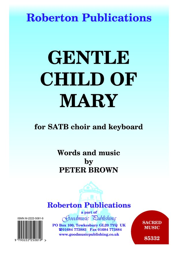 Gentle Child of Mary image