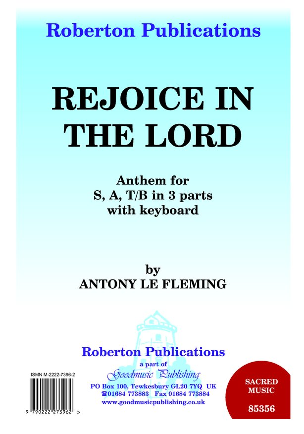 Rejoice in the Lord image