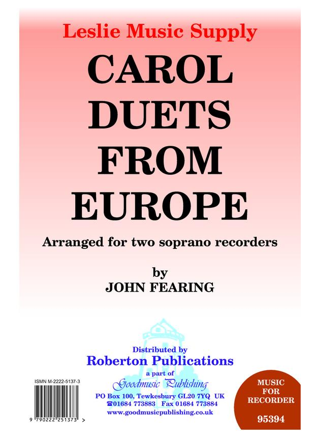 Carol Duets from Europe image