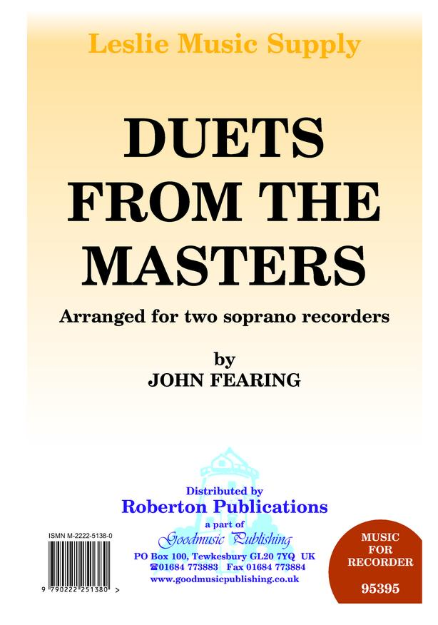 Duets from the Masters image
