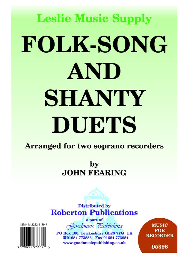 Folk-song and Shanty Duets image