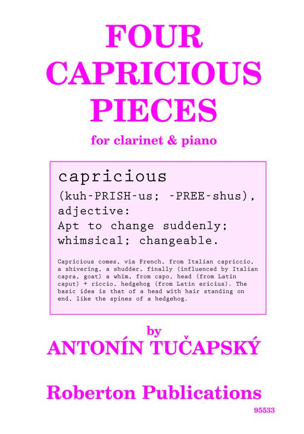 Four Capricious Pieces image