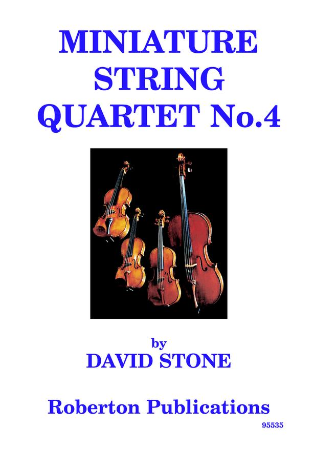 Miniature String Quartet 4 sc+pts image
