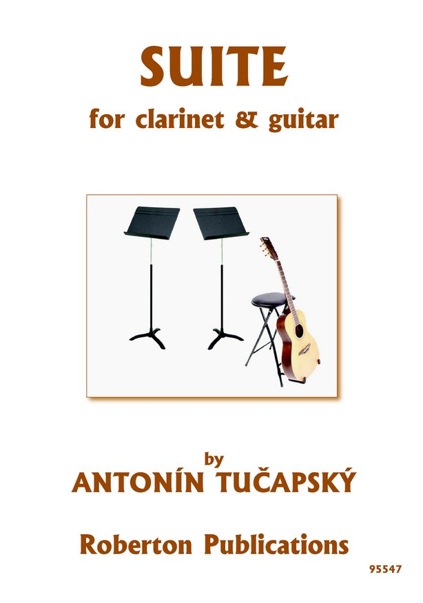 Suite for Clarinet and Guitar image