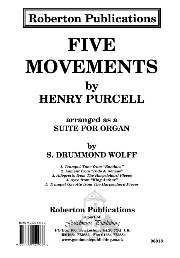 Five Movements (arr.Wolff) image
