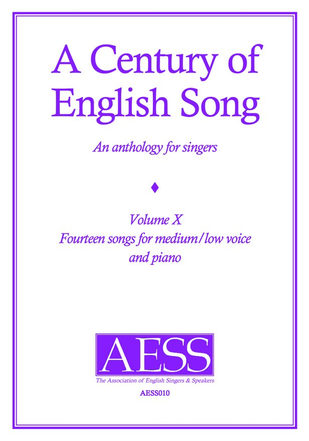 Century of English Song Volume 10 image
