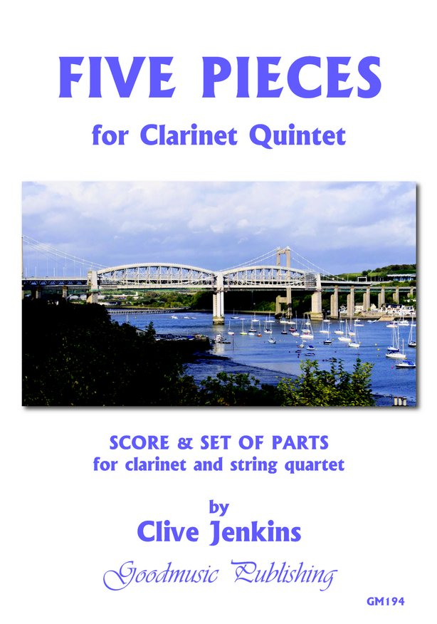 Five Pieces for Clarinet Quintet image
