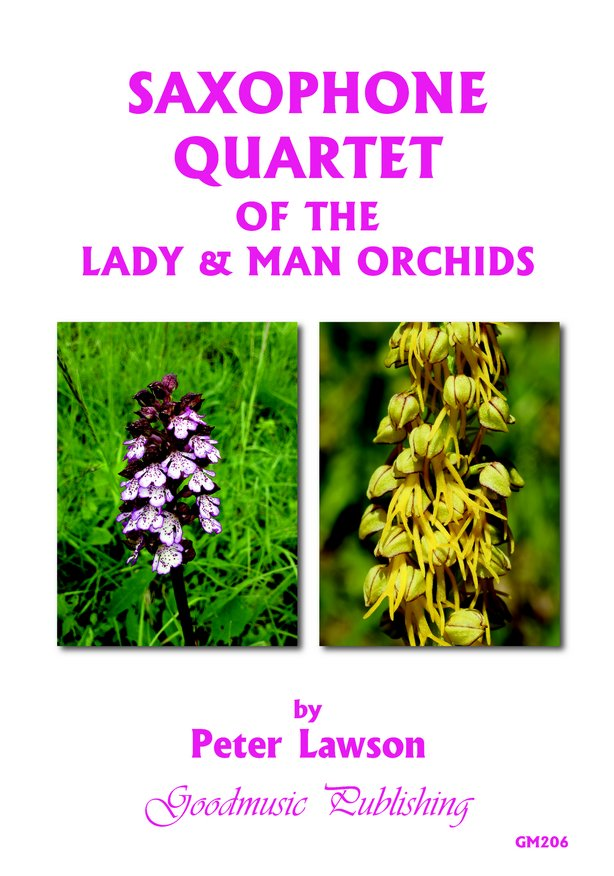 Sax Quartet of Lady & Man Orchids image