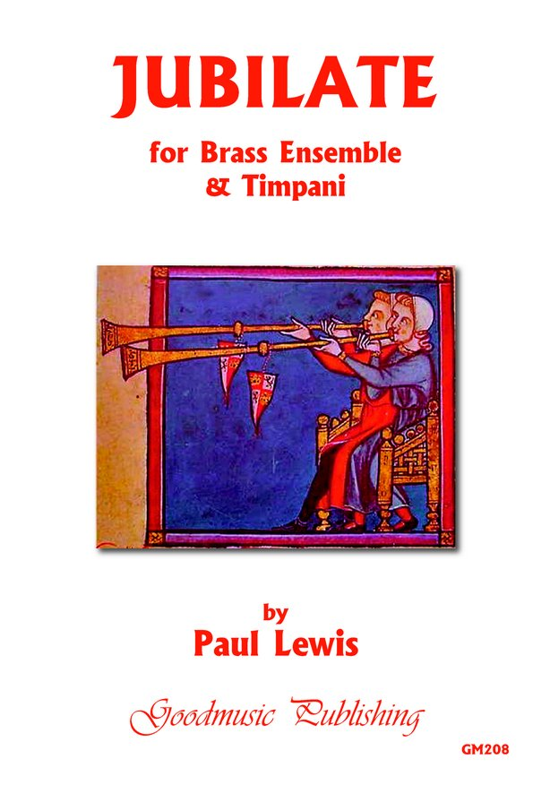 Jubilate for brass & timpani image