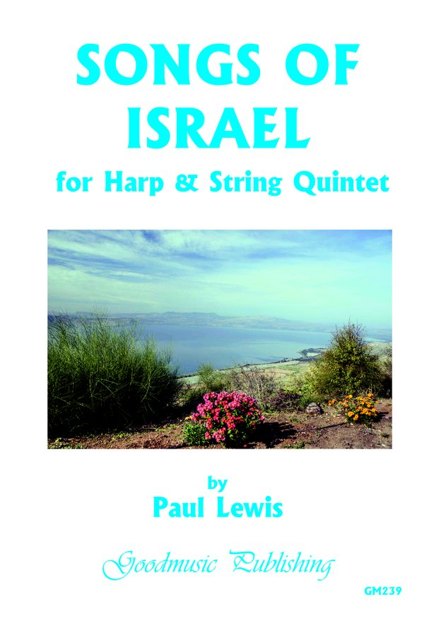 Songs of Israel for Harp+Str.Quint. image