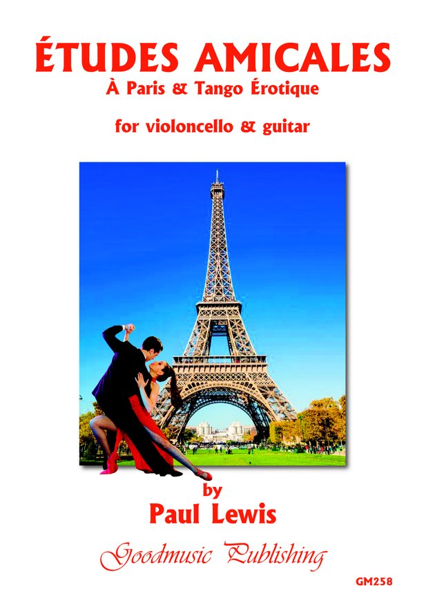 Etudes Amicales (cello+guitar) image