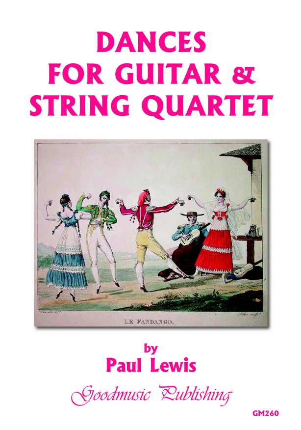 Dances for Guitar & String Quartet image