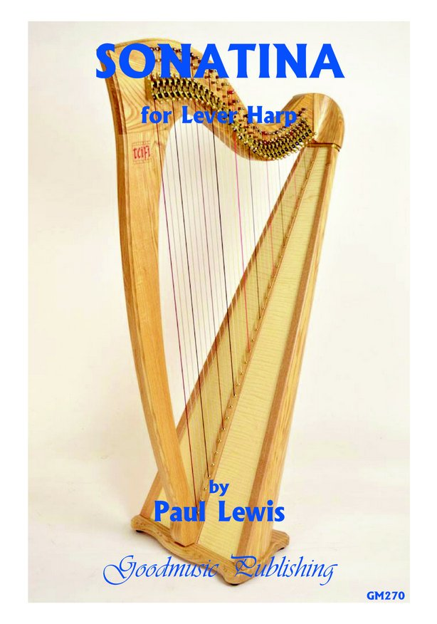 Sonatina for lever harp image
