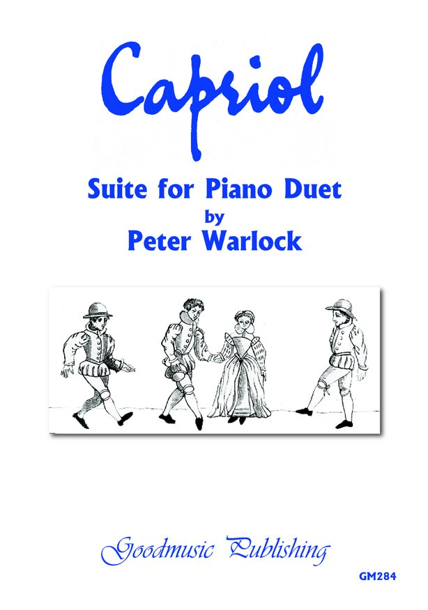 Capriol Suite for Piano Duet image