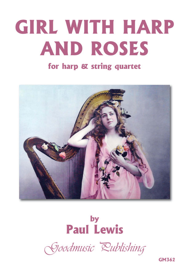 Girl with Harp and Roses (Harp+Str) image