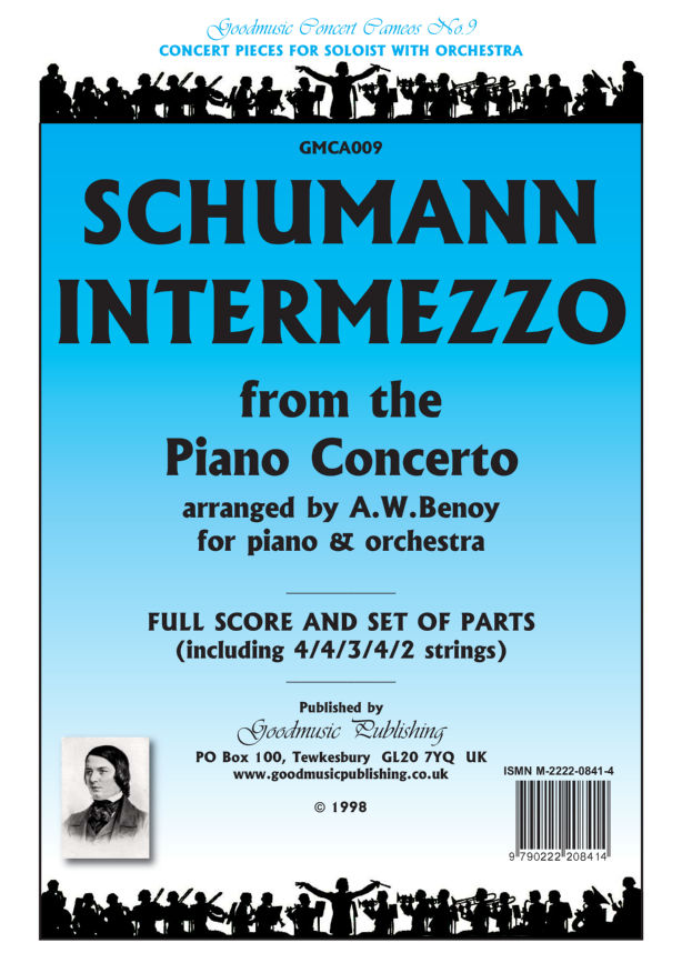 Intermezzo (Piano Concerto) Cello image