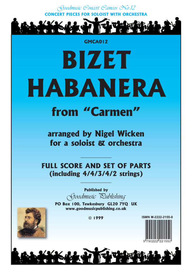 Habanera from Carmen (Wicken)  Pack image