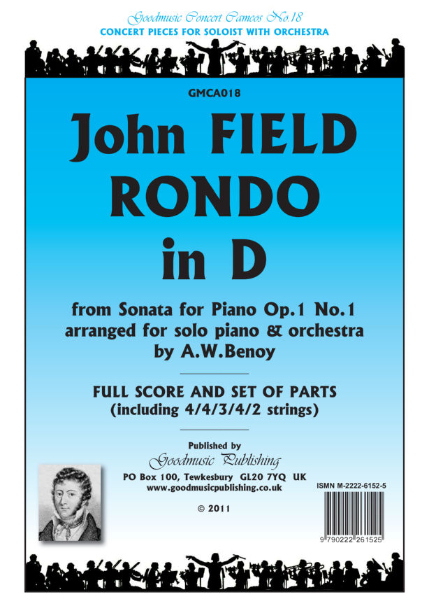 Rondo in D (arr.Benoy)  Pack image