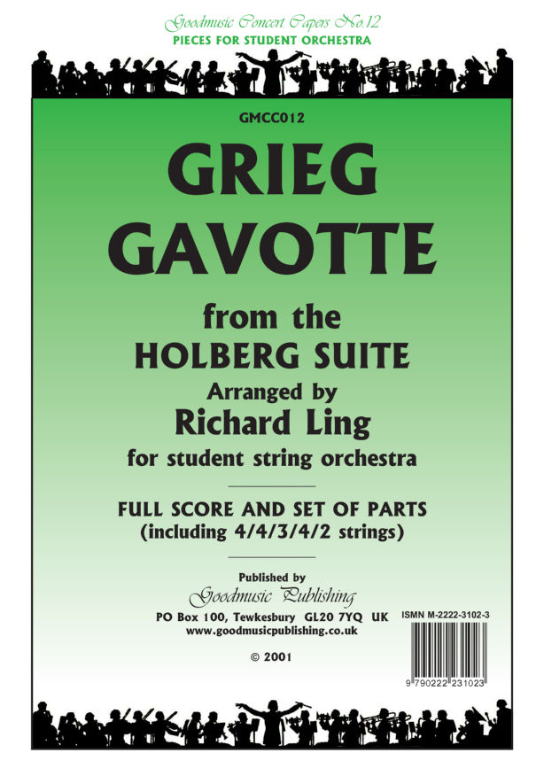 Gavotte Holberg Suite (Ling)  Pack image