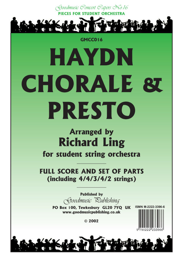 Chorale & Presto (arr.Ling) Bass image