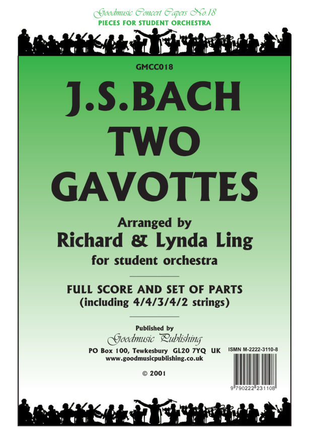 Two Gavottes Suite 3 (Ling)  Pack image
