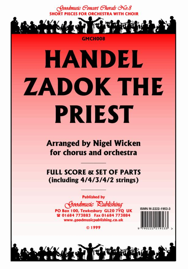 Zadok the Priest (Wicken)  Pack image