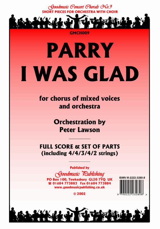I Was Glad (orch.Lawson)  Pack image