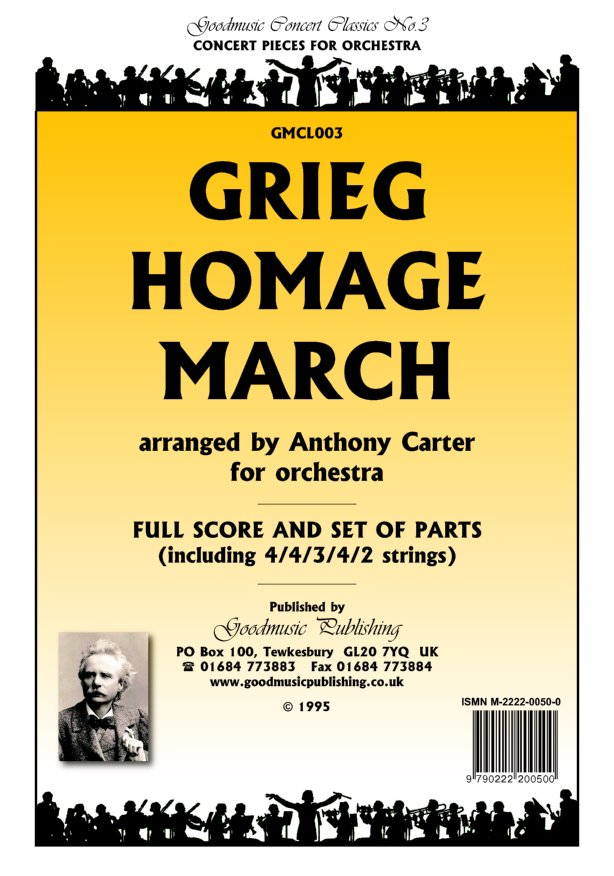 Homage March (Carter)  Pack image