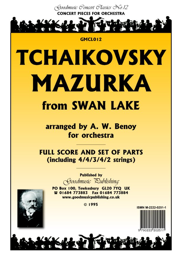 Mazurka from Swan Lake Cello image