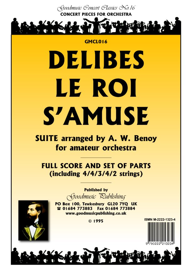 Suite Le Roi S'amuse (Benoy) Cello image
