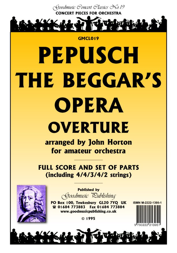 Beggars Opera Overture Cello image
