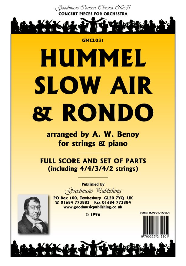 Slow Air and Rondo (Benoy)  Pack image