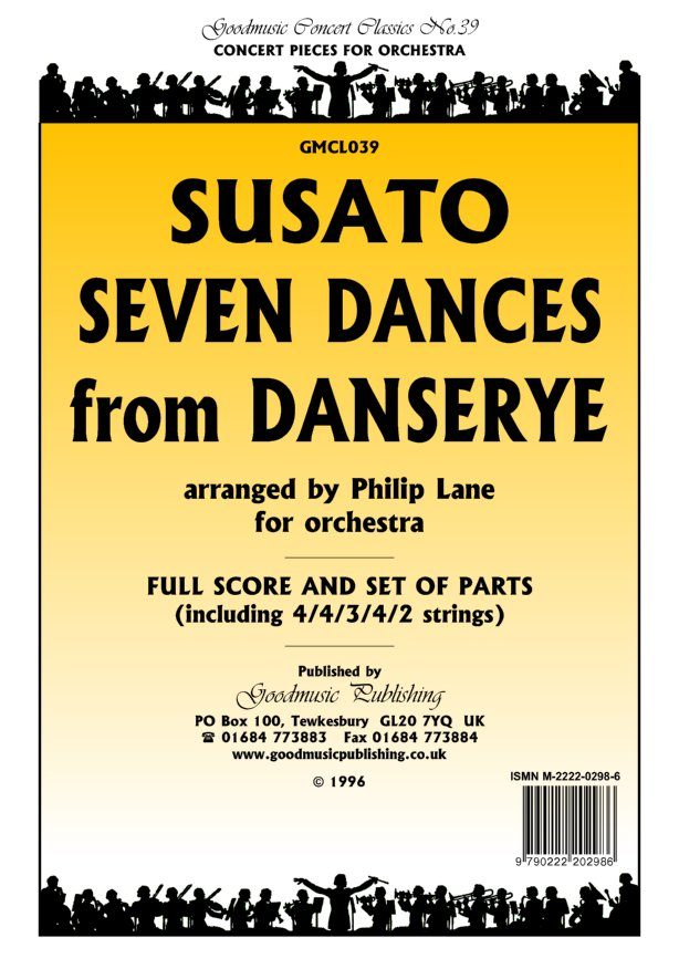 Seven Dances from Danserye  Pack image