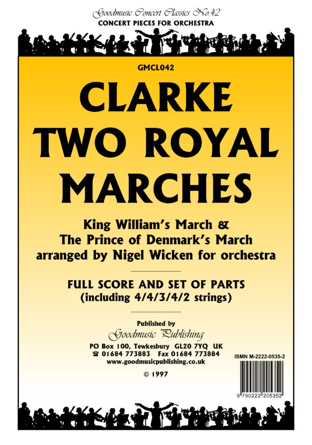 Two Royal Marches (Wicken)  Pack image