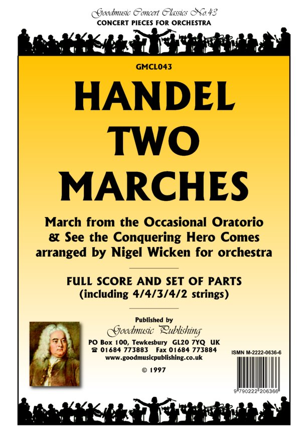 Two Marches (arr.Wicken)  Pack image