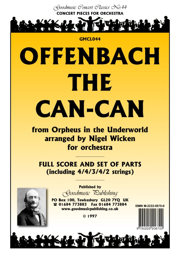 Can-Can (arr.Wicken)  Pack image