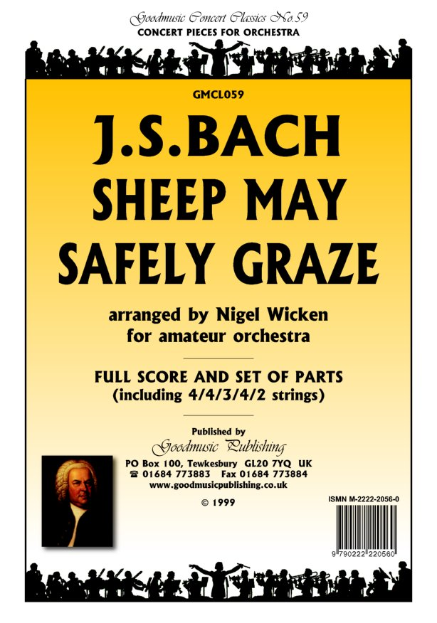 Sheep May Safely Graze  Pack image