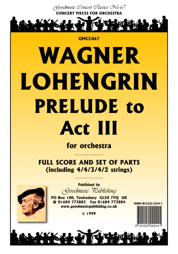 Lohengrin Prelude Act 3  Pack image