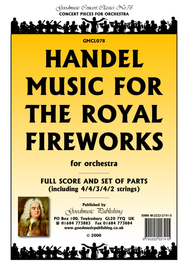 Music for the Royal Fireworks  Pack image