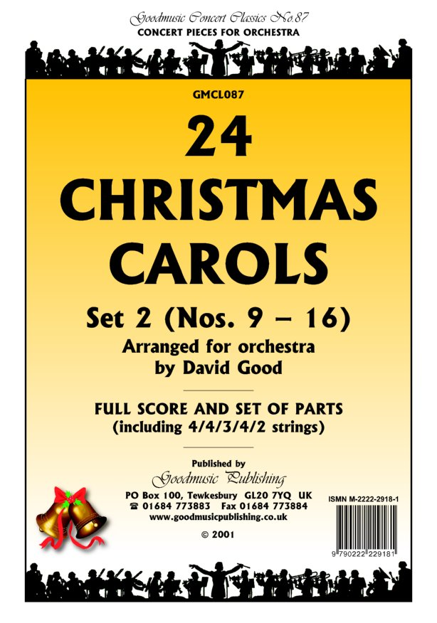 24 Christmas Carols Set 2 Violin 1 image