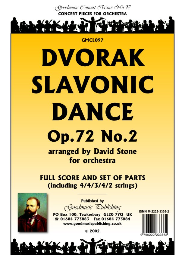 Slavonic Dance Op.72/2 (Stone) Cls image