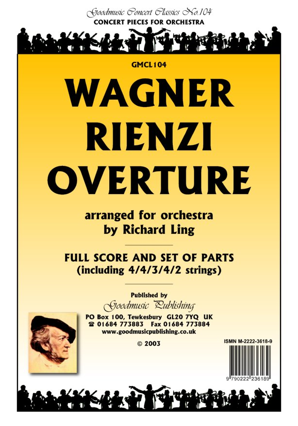 Rienzi Overture (arr.Ling)  Pack image
